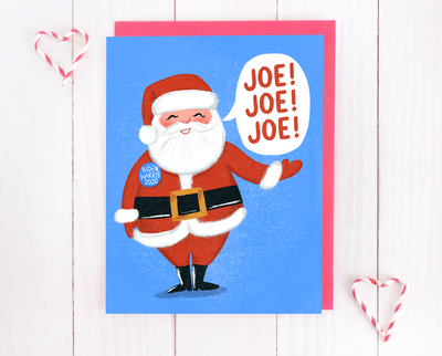 Joe! Joe! Joe! Christmas card