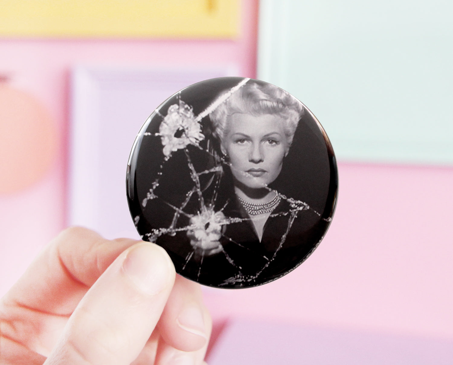 The Lady from Shanghai pocket mirror