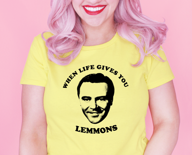 When life gives you Lemmons t-shirt