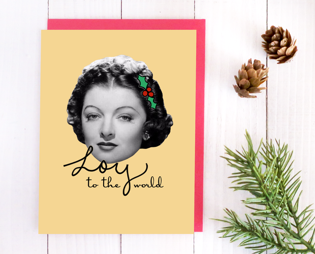 Loy to the World Christmas card set