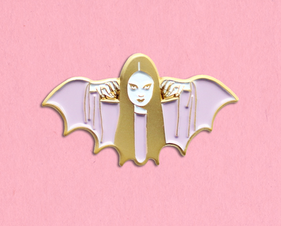 Mark of the Vampire Luna enamel lapel pin