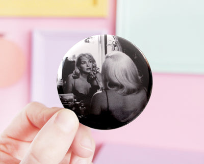 Marilyn pocket mirror
