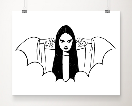 Luna Mark of the Vampire art print