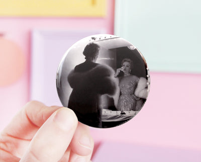 Marlene Dietrich pocket mirror