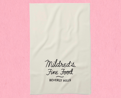 Mildred's tea towel