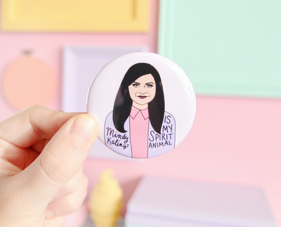 Mindy Kaling pocket mirror