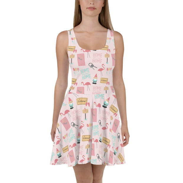 Home Sweet Home skater dress