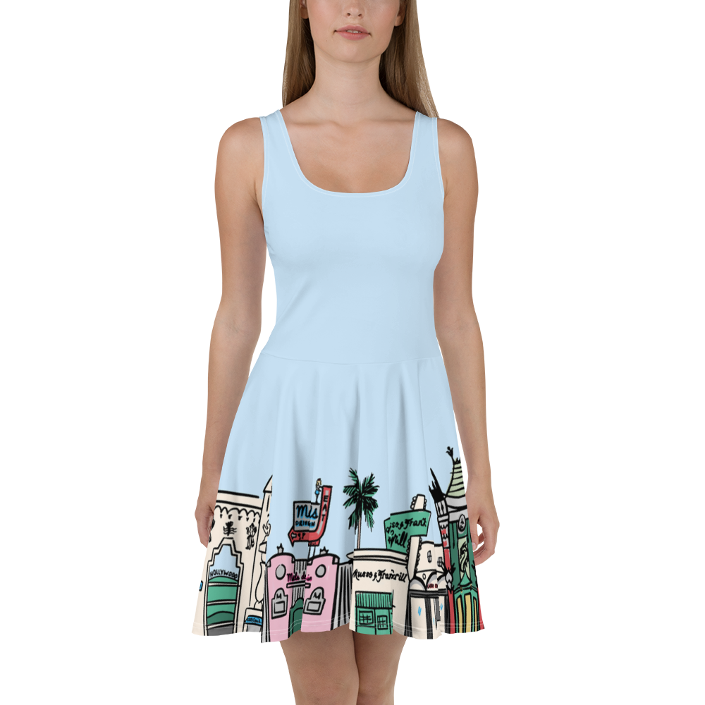 Hollywood Boulevard skater dress