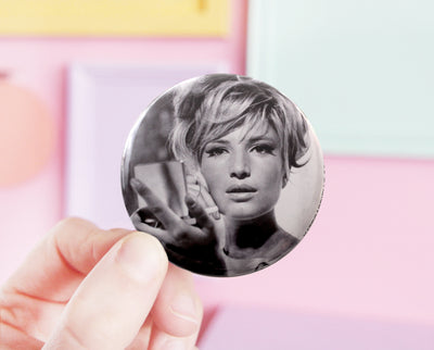 Modesty Blaise pocket mirror