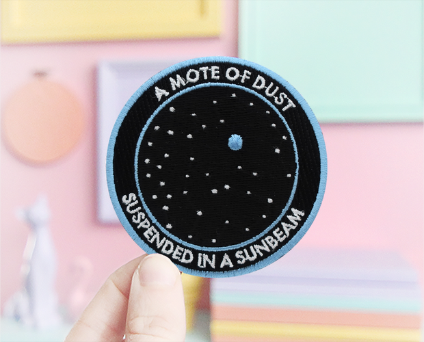 Pale Blue Dot patch