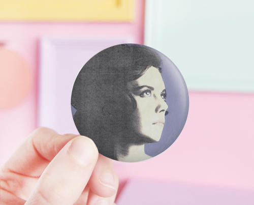 Natalie Wood pocket mirror
