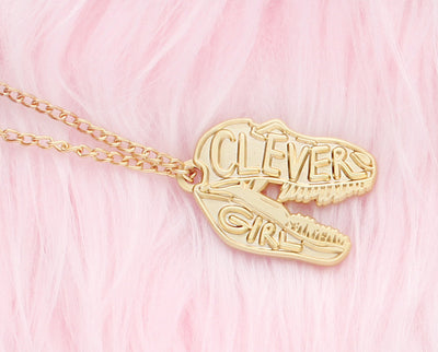 Clever girl necklace