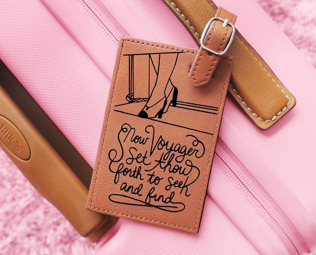 Now, Voyager luggage tag