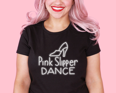 Pink Slipper Dance t-shirt