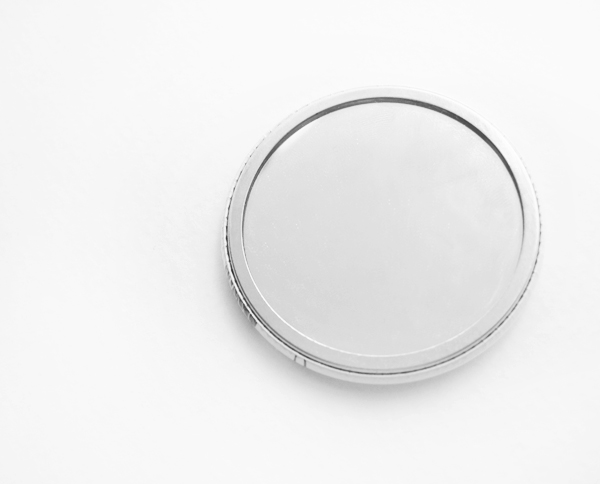 Woman inherits the earth pocket mirror