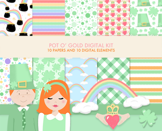 Pot O' Gold digital kit