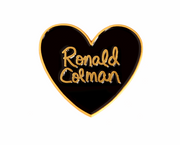 Classic film hearts enamel lapel pin