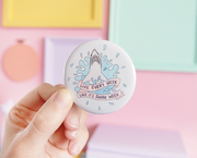 Shark Week pocket mirror