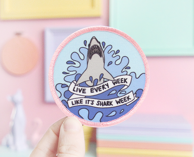 Shark Week patch