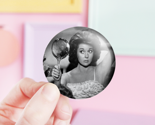 Susan Hayward pocket mirror