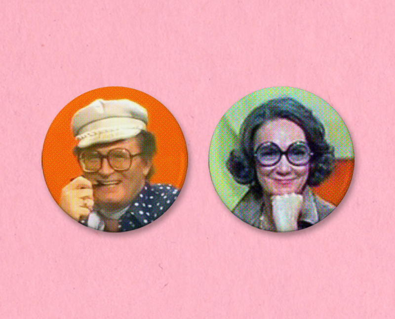 Match Game button or magnet set