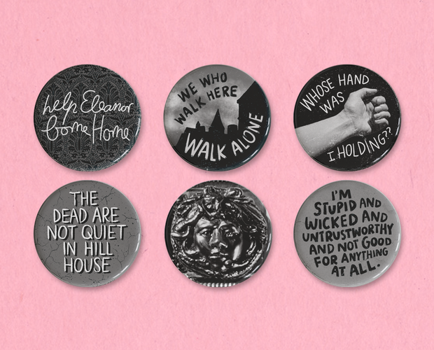The Haunting button set