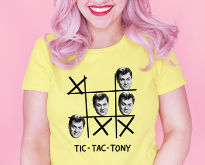 Tic Tac Tony t-shirt