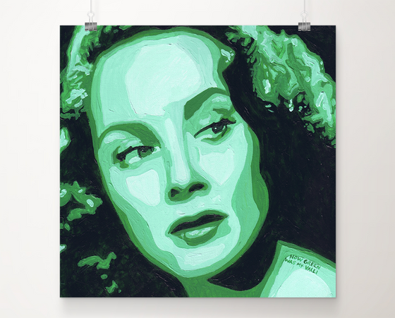 How Green Was My Valli art print