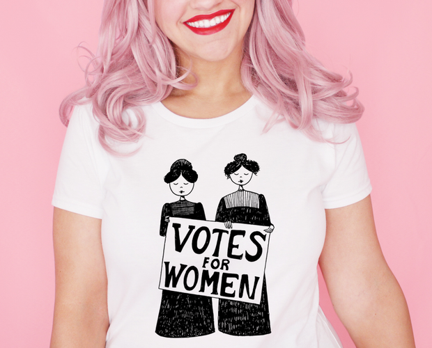 Votes for Women t-shirt