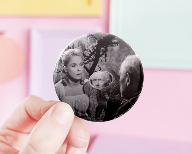 Wild Strawberries pocket mirror