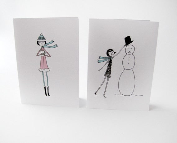 Printable winter cards