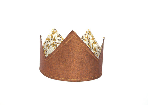 Reversible Party Crown | Bronze/ Grey