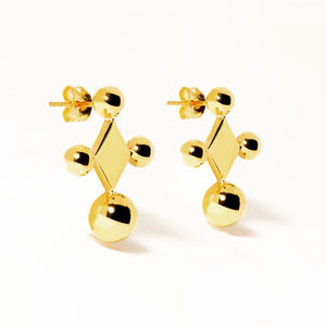 Donoma Earrings | Gold