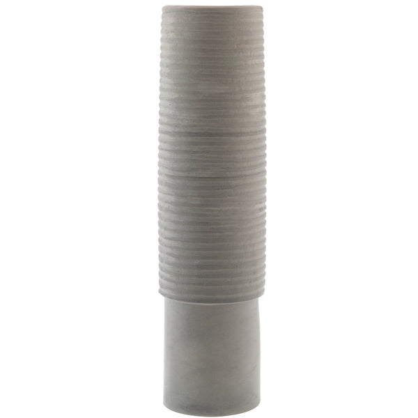 Tall Vase - Large Grey