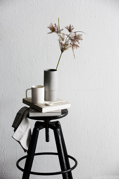 Tall Vase - Small Grey