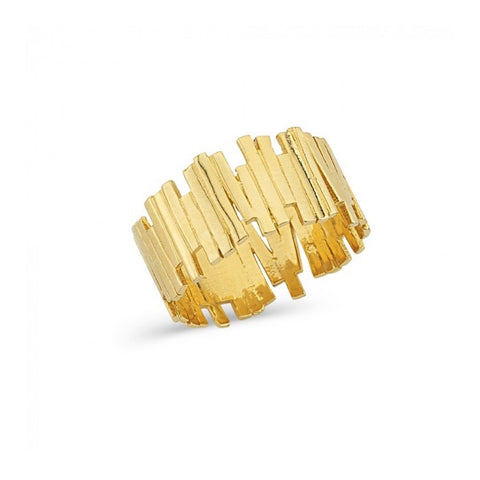 Paved in Gold Ring 2 | Gold 14K