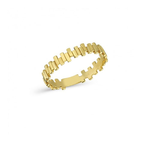 Paved in Gold Ring | Gold 14K