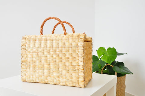 Portuguese Basket Bag | Natural