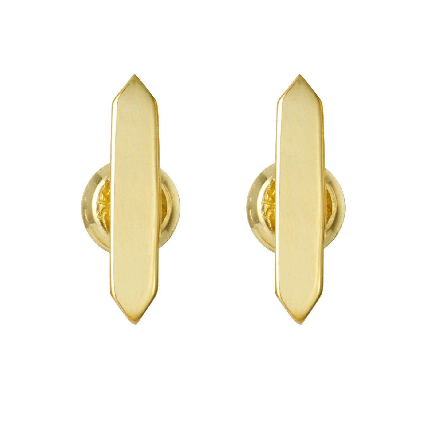 Stud Earrings - Gold
