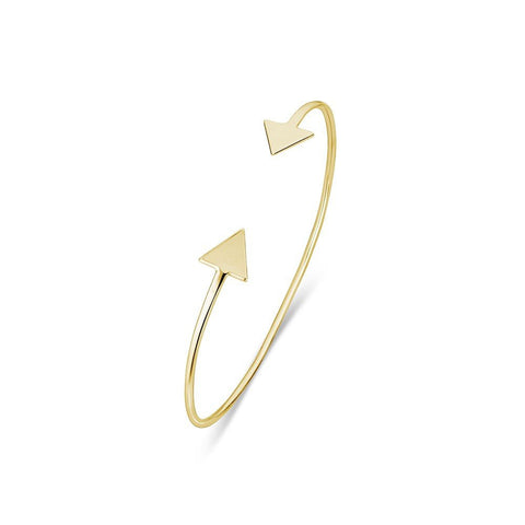Triangle Bangle - Gold