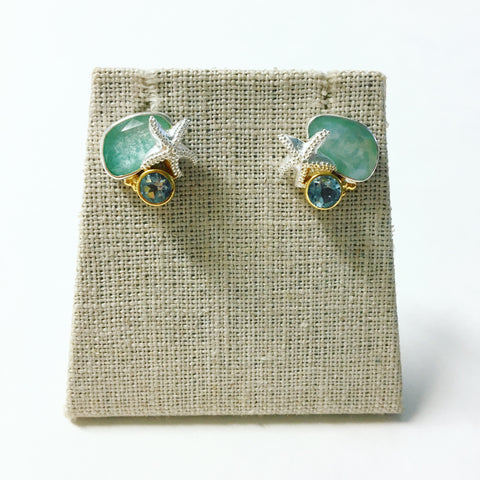 Michou Sea Life Post Earrings