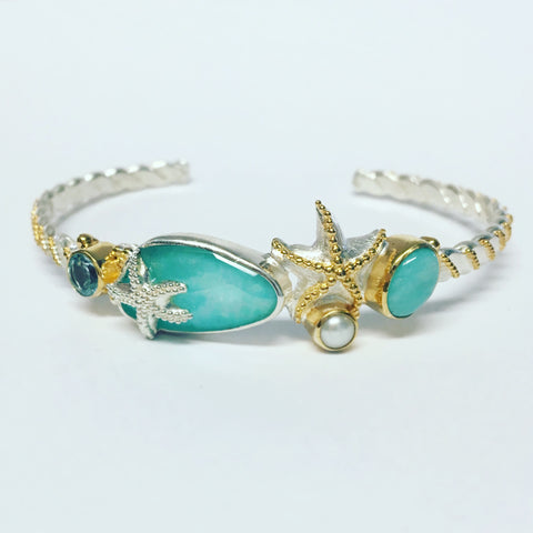 Michou Slim Sea Life Cuff