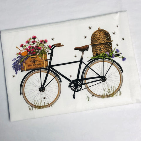 Beehive Bike Flour Sack Towel