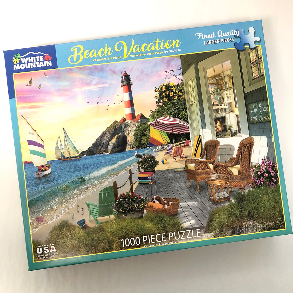 Beach Vacation Puzzle