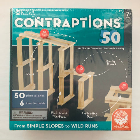 Contraptions 50 Piece Kit