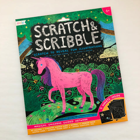 Scratch & Scribble Unicorn