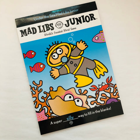 Mad Libs Junior Under the Sea