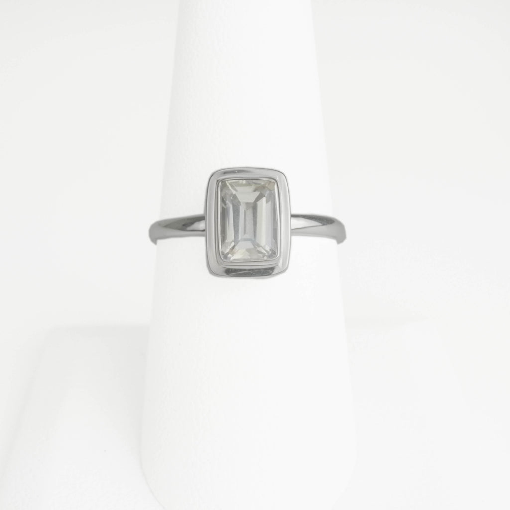Moonglow Topaz Ring