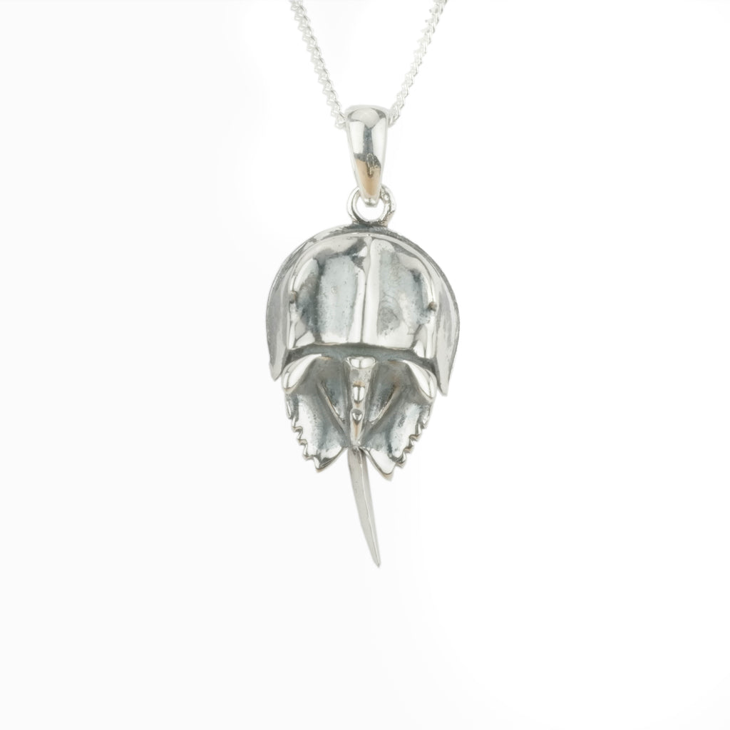 Large Horseshoe Crab Pendant