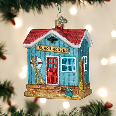 Beach House Ornament